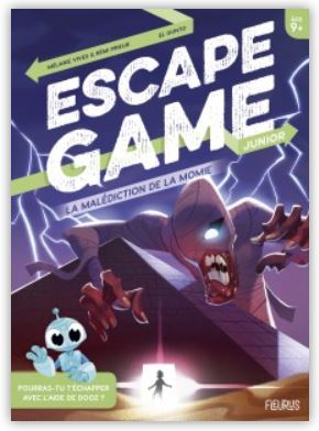 Livret jeu Escape Game des Editions Fleurus, notre avis