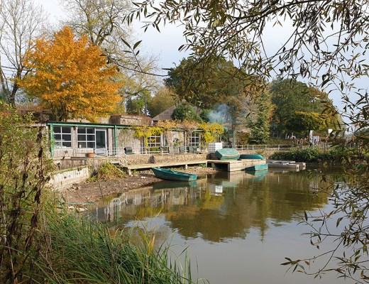 Lac de bambois en automne