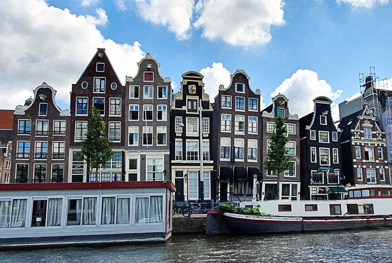 Les canal house de Amsterdam