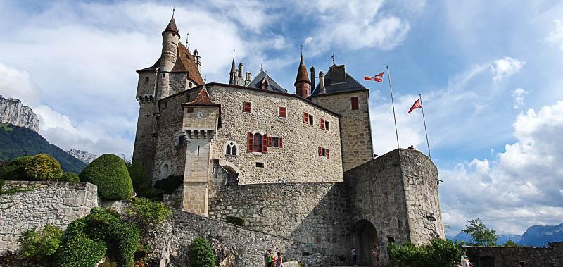 Château de Menthon saint Bernard Annecy