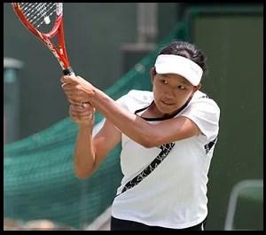 内島萌夏 テニス プロフィール 全日本ジュニアU-18 一ッ葉高等学校 昭和の森ジュニアテニススクール