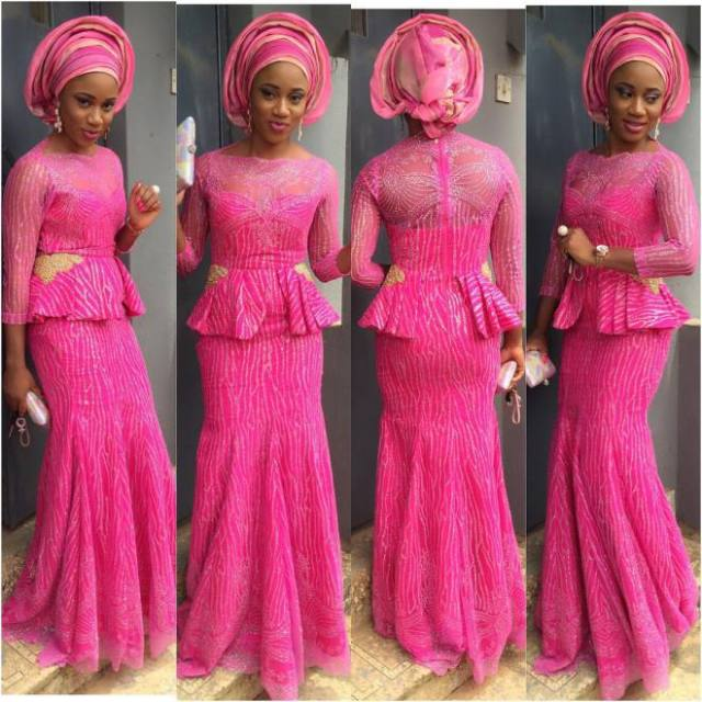 (@labbyjc) Nigerian Aso Ebi Styles 1