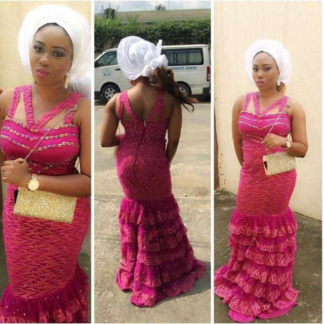 @msjuanposh Nigerian Aso Ebi Styles 5