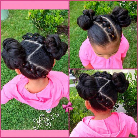 Natural Hairstyles for Kids : lovely Collection for Your Baby