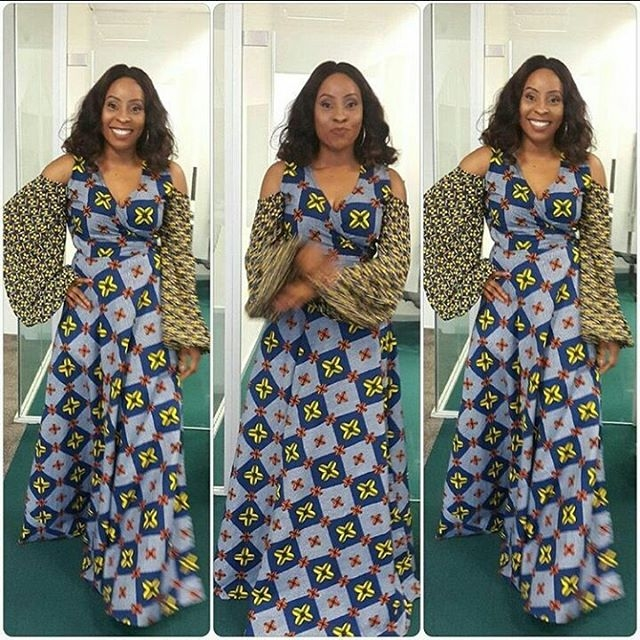 Ankara Long Gown Styles 2017 : Check The Lovely Styles