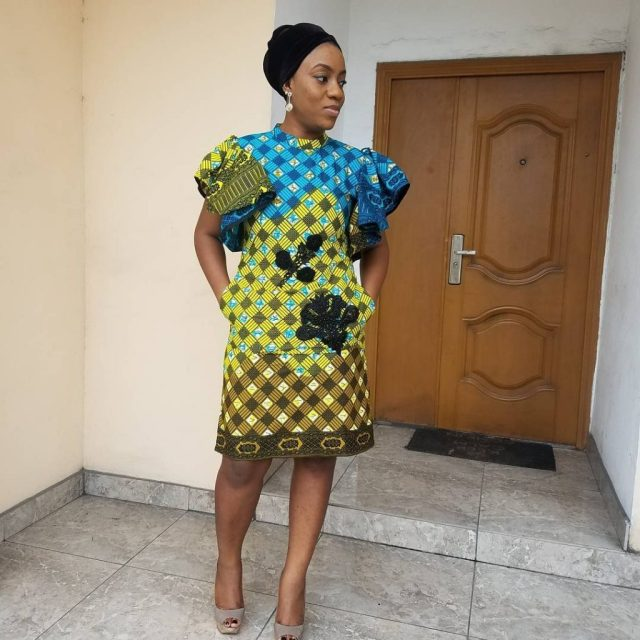simple ankara gown styles