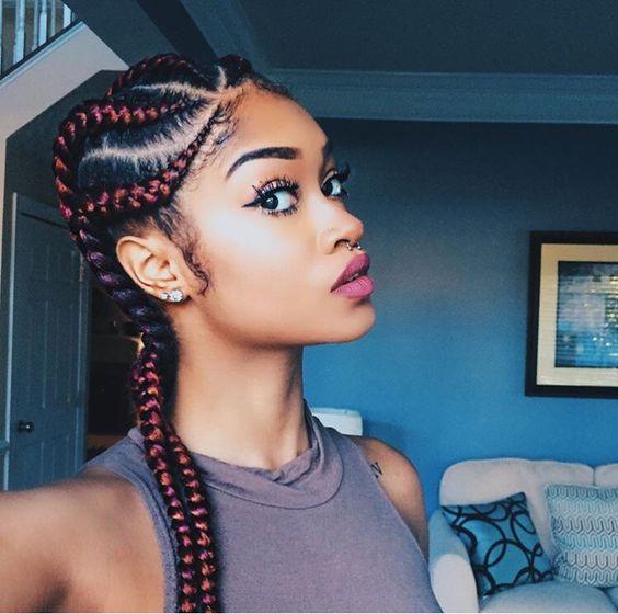 Ghana Weaving All Back Styles African Hairstyles For Ladies