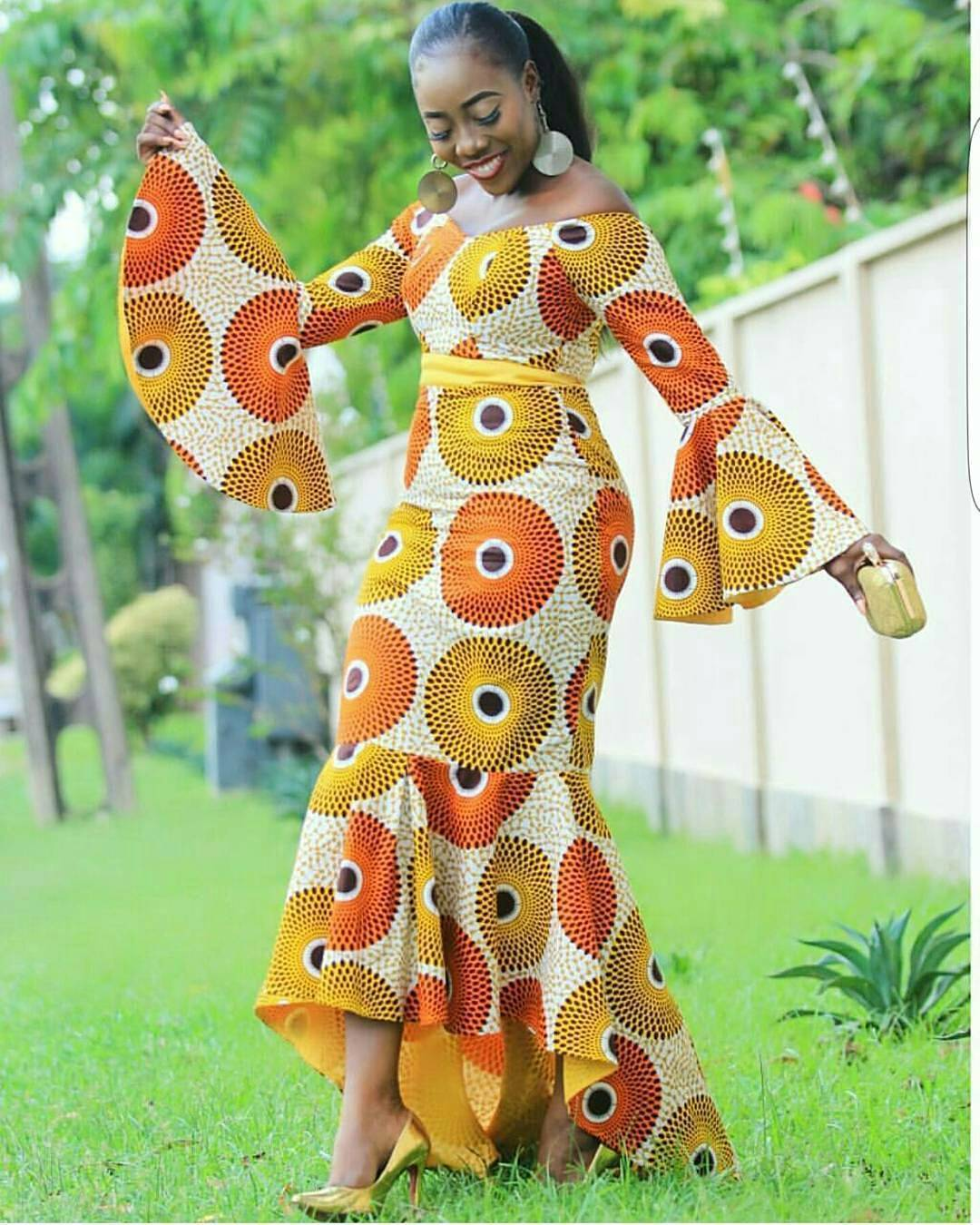 Beautiful Ankara Styles for Young Ladies To Slay Cute
