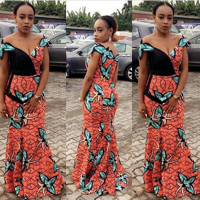 skirt and blouse ankara styles 2017 2