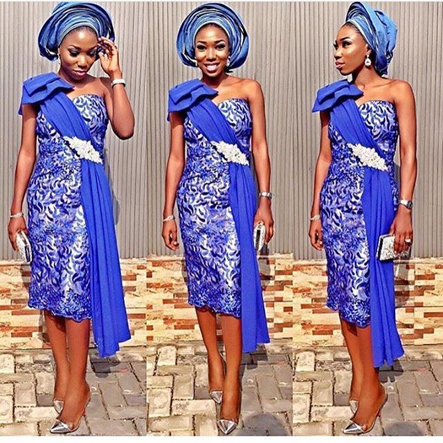 aso ebi lace gown styles 2017 1