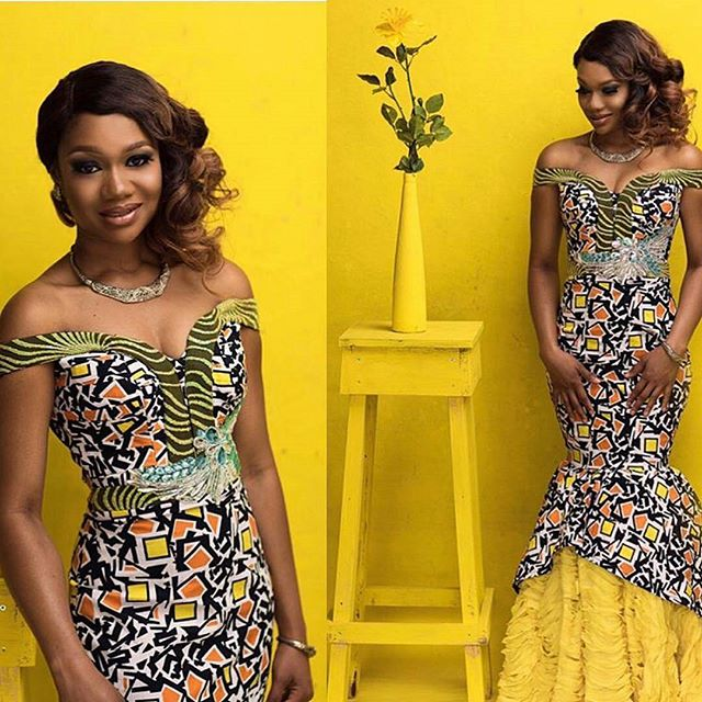 Cool & Unique Latest Ankara Long Gown Styles For Ladies