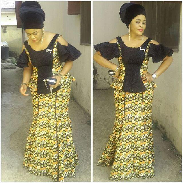 Ankara Six Pieces Skirt And Blouse Stylish Peplum Styles For Ladies
