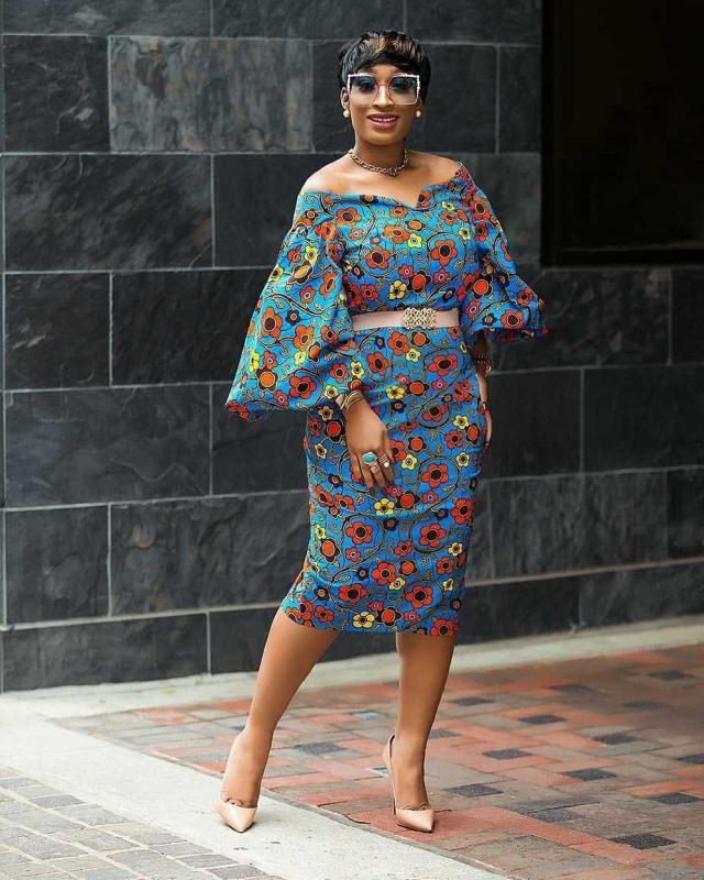 ankara short dresses 2018 3
