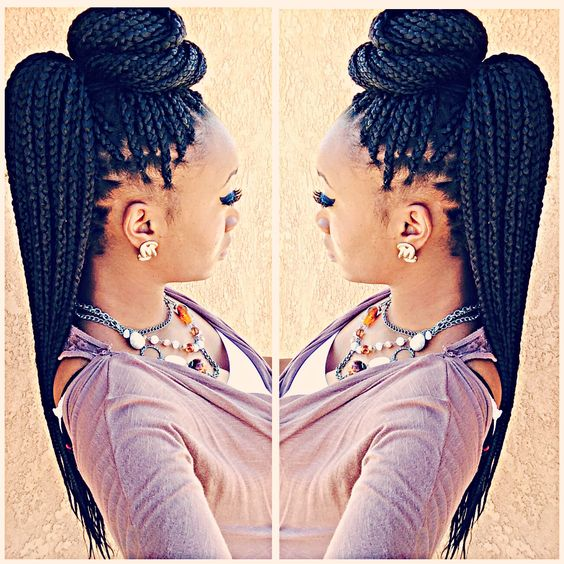 different ways to style braided hair 2018 braided hairstyles top amazing braids styles for 5455