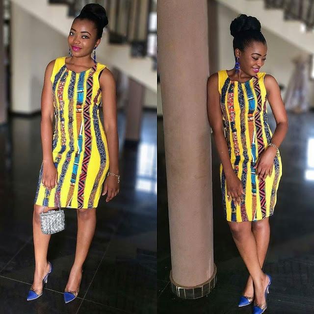 2018 Ankara Short Gown Styles
