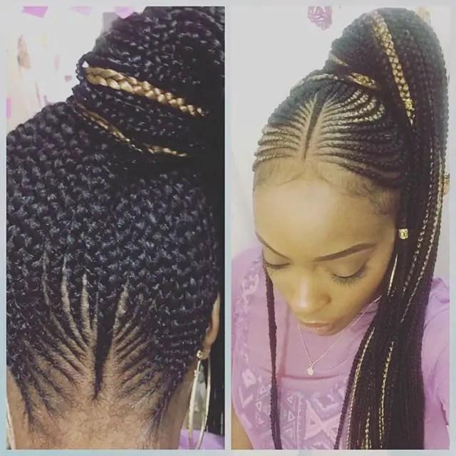 2018 hair braiding styles ; totally