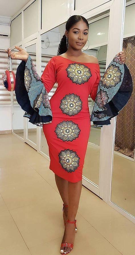 Trending Ankara Gown Styles 2018