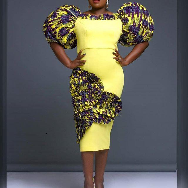 African Ankara Gown Styles