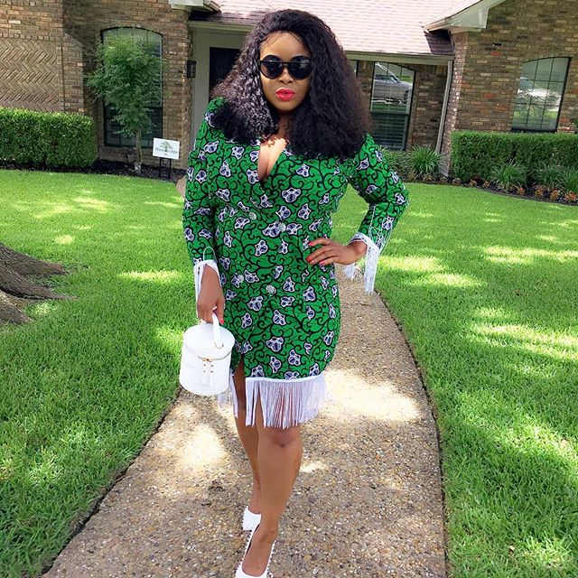 pictures of simple ankara styles