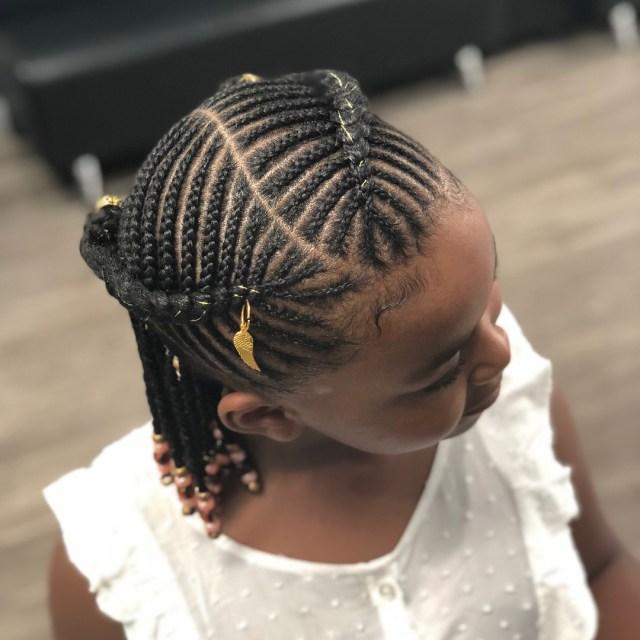 2019 Kids Braids Hairstyles : Cute Styles for Little Girls