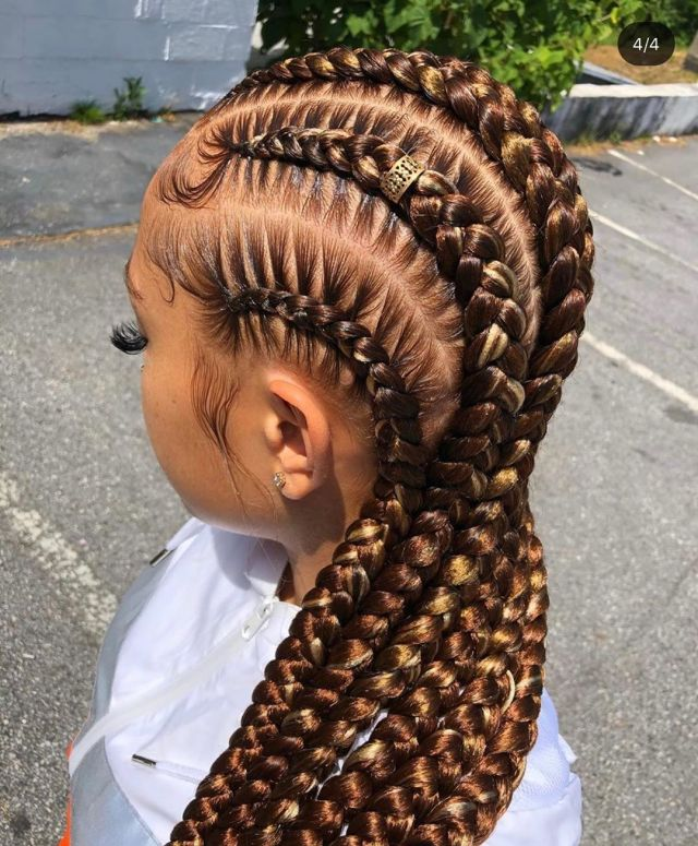 Braid Styles with Weave: Trending Pictures of Braided ...