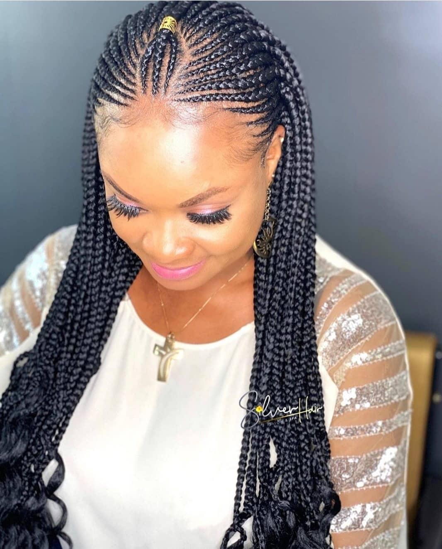Latest Black Braided Hairstyles 2020 Best Braided Hairstyles 2020