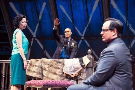 Pearl Sun, Maboud Ebrahimzadeh, and Rafael Untalan in The Price