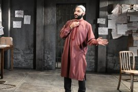 Maboud Ebrahimzadeh as Bashir in The Invisible Hand