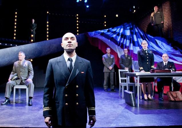 Maboud Ebrahimzadeh as Lt. Daniel Kaffee