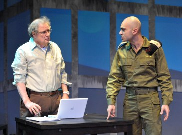 Michael Tolaydo and Maboud Ebrahimzadeh