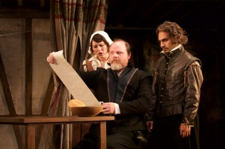 Katie Kleiger, Todd Scofield, and Maboud Ebrahimzadeh in The Book of Will