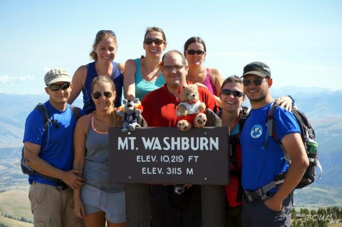 Les vainqueurs du Mt Washburn