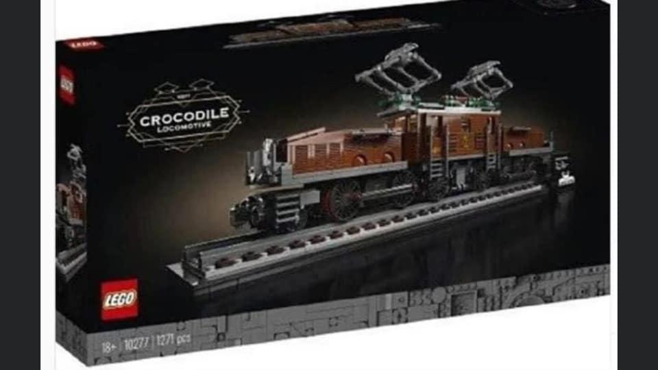 Read more about the article Le train Crocodile LEGO® 10277 en fuite sur le net