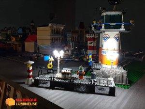 Lampadaires led sur les quais LEGO® City Ma Brique Lumineuse