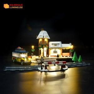 Kit led à câbler pour Le village d'hiver LEGO® Creator 10259