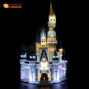 Kit led à câbler pour Le château Disney LEGO® 71040