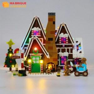 Kit led précâblé pour La maison pain d'épice LEGO® 10267