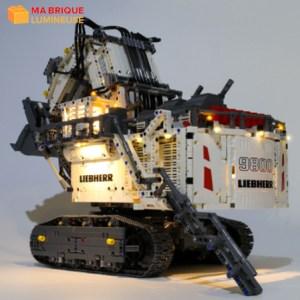 Kit led précâblé pour La pelleteuse Liebherr R 9800 LEGO® 42100