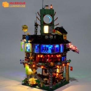 Kit led précâblé pour La ville Ninjago LEGO® 70620