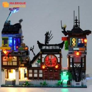 Kit led précâblé pour Les quais de la ville Ninjago LEGO® 70657
