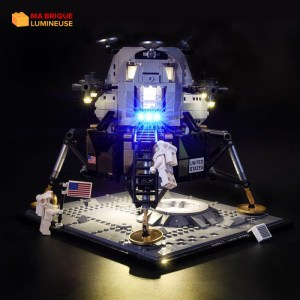 Kit led précâblé pour NASA Apollo 11 Lunar Lander LEGO® IDEAS 10266