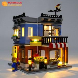 Kit led précâblé pour le Comptoir Deli LEGO® Creator 31050