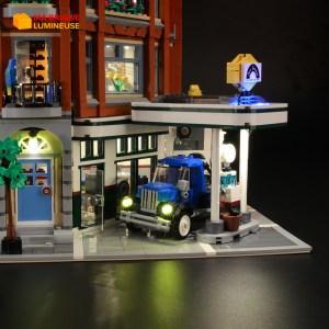 Kit led précâblé pour Corner Garage LEGO® Creator 10264