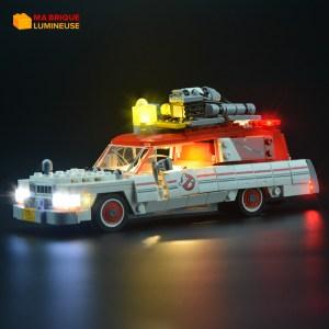 Kit led précâblé pour Ecto 1 et 2 Ghostbusters LEGO® Ideas 75828
