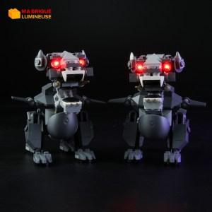 Kit led précâblé pour Le temple Ninjago LEGO® 70617