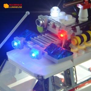 Kit led précâblé pour SOS Fantômes Ecto 1 LEGO® Ideas 21108