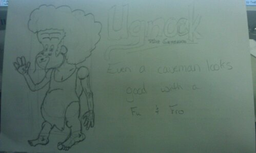 #dailydoodle Ungock w/ Fu and Fro.