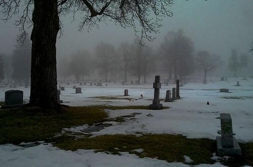 Heavy Fog outside clears my mind inside.