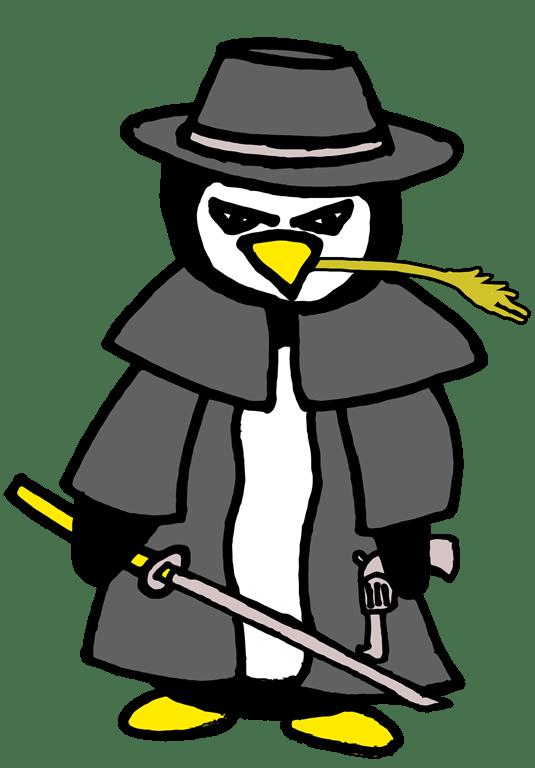 Penguin-Cowboy-Samurai