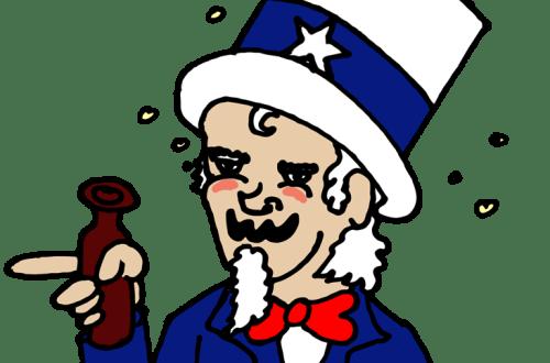 Daily Doodle –  Drunkle Sam